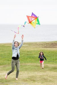 Kite flying at AFG